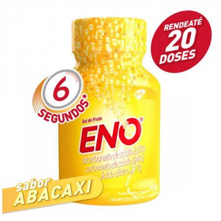 Sal de Fruta Eno Pó Abacaxi 100g