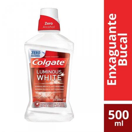 Enxaguante Bucal Colgate Luminous White XD Branqueador com 500ml