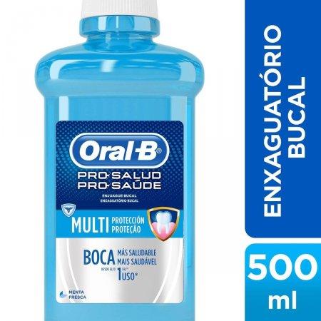 Enxaguante Antisséptico Bucal Oral-B Pro-Saúde com 500ml