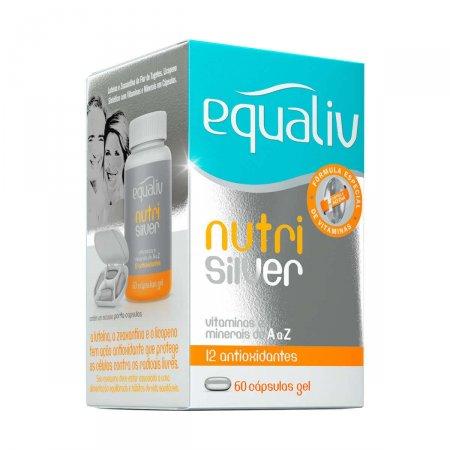 Suplemento Polivitamínico de A-Z Equaliv Nutri Silver com 60 cápsulas gel
