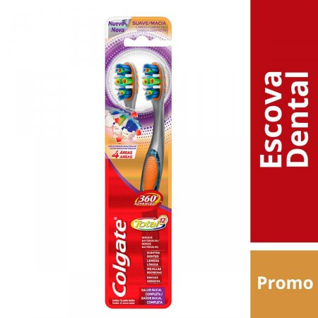 Escova Dental Colgate 360° Advanced Total 12