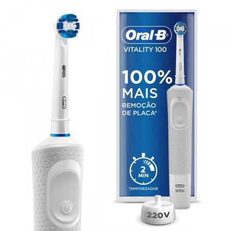 Escova de Dente Elétrica Oral-B Vitality Precision Clean 220v
