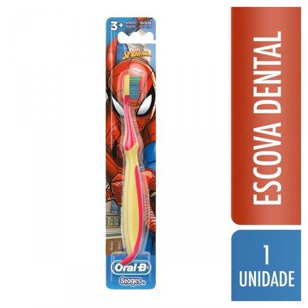 Escova Dental Infantil Oral-B Stages Spider-Man
