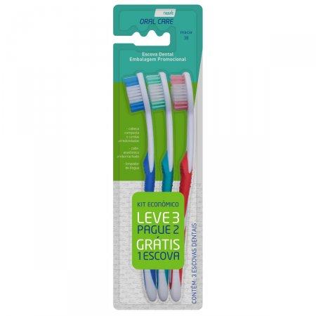Escova Dental Macia Needs Leve 3 Pague 2