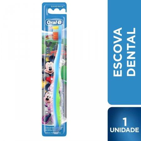 Escova de Dente Infantil Oral-B Mickey com 1 unidade