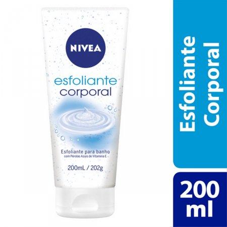 Esfoliante para Massagem Corporal Nivea Bath Care 200ml