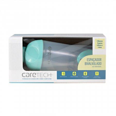 Espaçador Caretech Bi-Valvulado Infantil 1 Unidade | Drogaraia.com Foto 1
