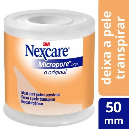 Esparadrapo Micropore Nexcare Bege 50mm X 4,5m