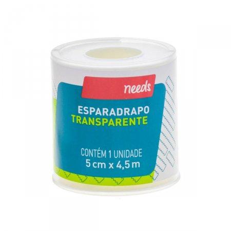 Esparadrapo Needs Transparente 5cm X 4,5m | Onofre.com Foto