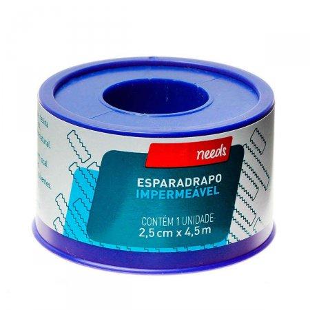Esparadrapo Impermeável 2,5cm X 4,5m Needs 1 Unidade | Onofre.com Foto 1