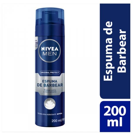 Espuma de Barbear Nivea Men Original Protect