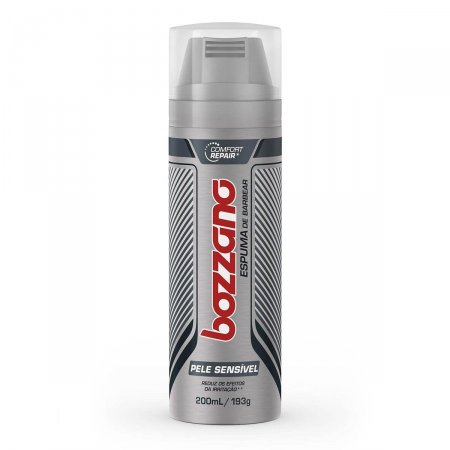 Espuma de Barbear Bozzano Protection para Pele Sensível 193g