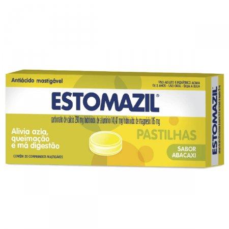 Estomazil Abacaxi Com 20 Comprimidos Mastigáveis