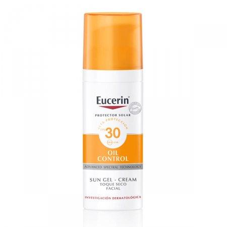 Protetor Solar Facial Eucerin Oil Control FPS 30 com 50ml
