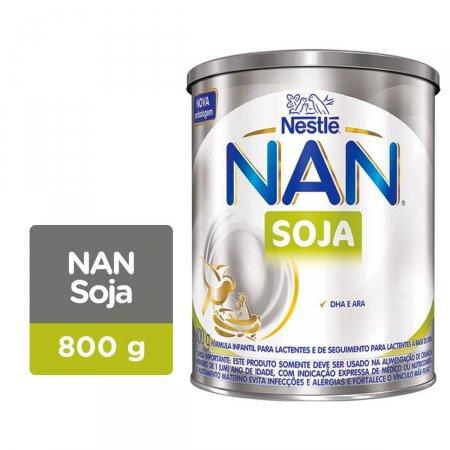 Fórmula Infantil NAN Soja com 800g