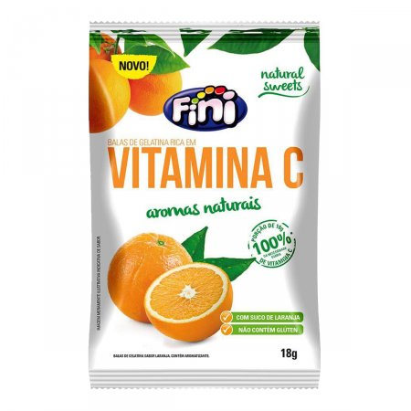 Bala Fini Vitamina C 18g