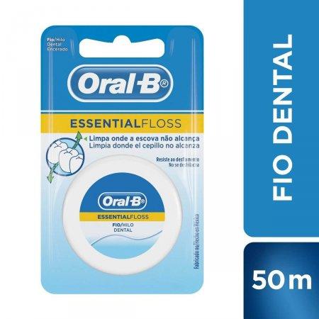 Fio Dental Encerado Oral-B Essential Floss