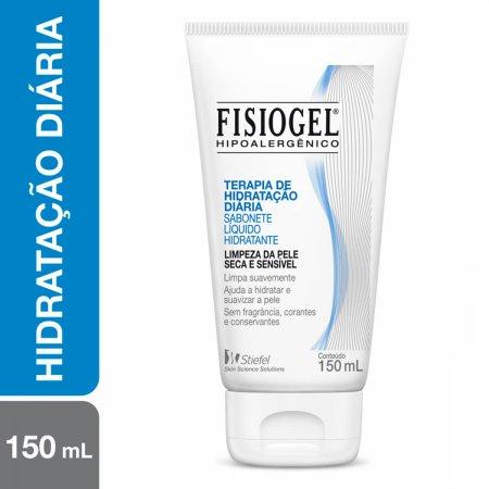 Sabonete Líquido Hidratante Fisiogel Terapia da Hidratação Diária 150ml