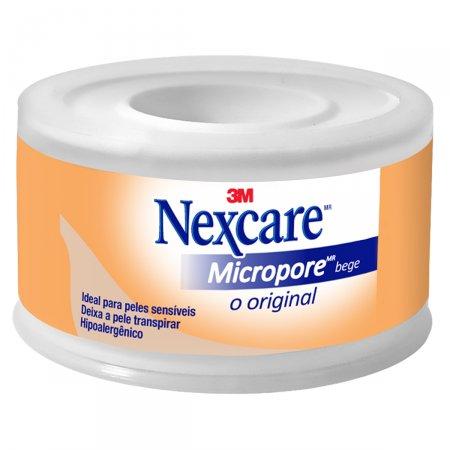 Esparadrapo Nexcare Micropore Cor da Pele 25mm x 4,5m