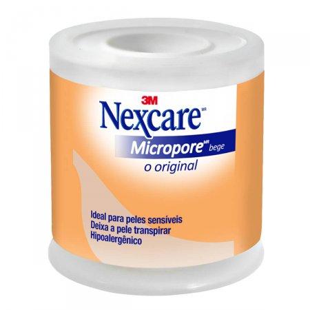 Esparadrapo Nexcare Micropore 50mm x 4,5m Bege
