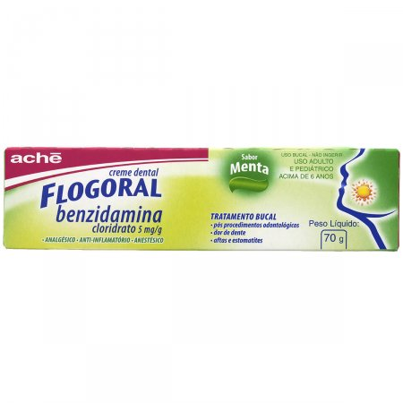Creme Dental Flogoral 70g