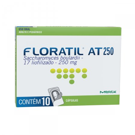 Floratil AT 250mg 10 Cápsulas
