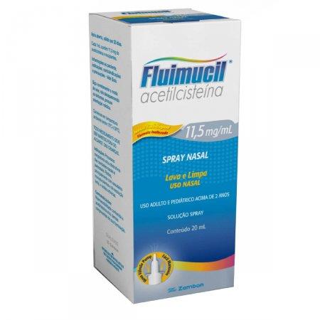 Fluimucil 11,5mg/ml Solução Nasal com 20ml