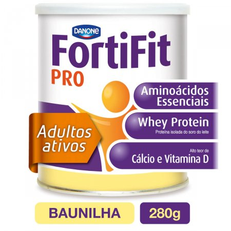 Suplemento Hiperproteico Fortifit Pro Baunilha 280g