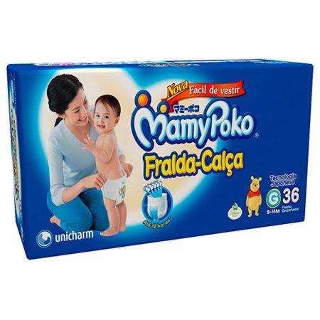 Fralda-Calça Mamypoko G com 36 unidades