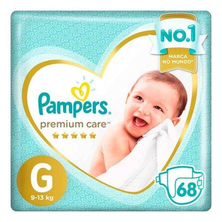 Fralda Pampers Premium Care Tamanho G
