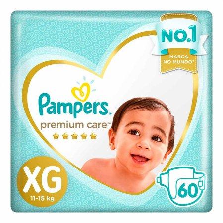 Fralda Pampers Premium Care Tamanho XG