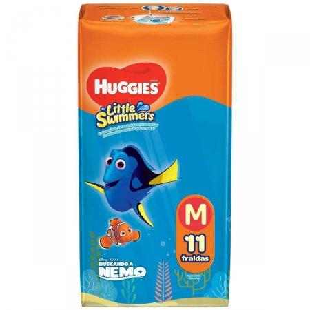 Fralda Huggies Little Swimmers Tamanho M 11 Tiras  