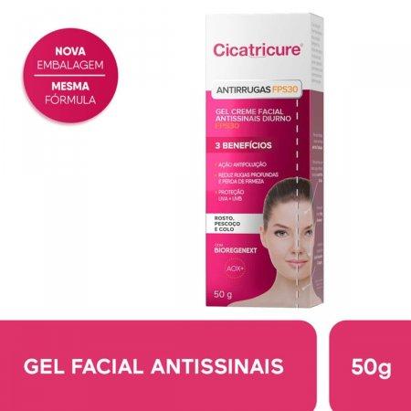 Gel Creme Antissinais Facial Cicatricure Diurno FPS30