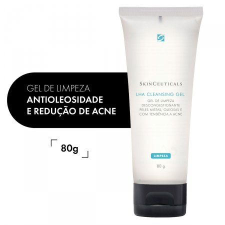 Gel de Limpeza Facial LHA Cleansing Skinceuticals com 80g