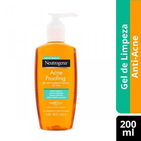 Gel de Limpeza Neutrogena Acne Proofing