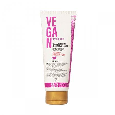 Esfoliante Facial Vegan by Needs Jasmin + Pimenta Rosa 120ml |