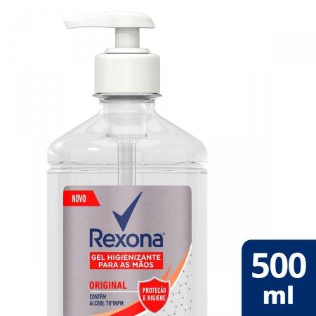 Gel Higienizante para Mãos Rexona Original com 500ml