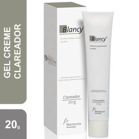 Gel Creme Clareador de Pele Blancy com 20g