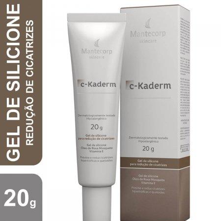 Gel de Silicone para Redução de Cicatrizes Mantecorp C-Kaderm com 20g