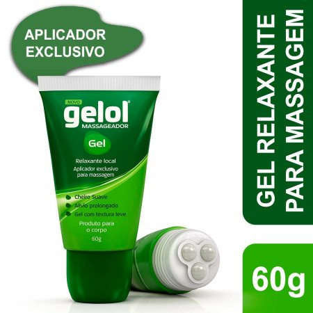 Gelol Massageador Gel 60g Foto 2