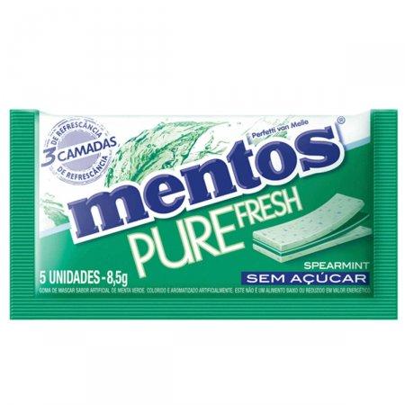 Goma de Mascar Mentos Pure Fresh 3 Spearmint