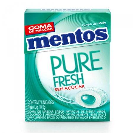 Goma de Mascar Mentos Pure Fresh Wintergreen 7 Unidades