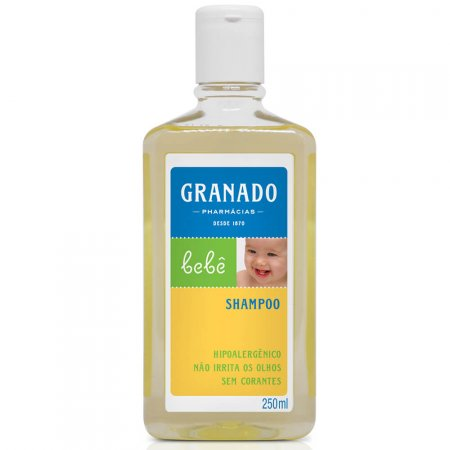 Shampoo Granado Bebê Tradicional com 250ml