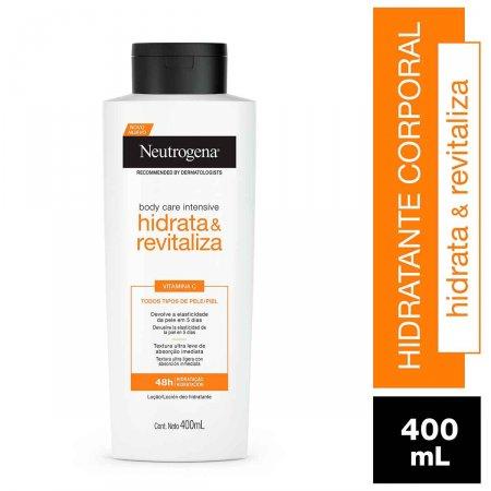 Hidratante Corporal Neutrogena Body Care Intensive Hidrata&Revitaliza com 400ml   Foto 2