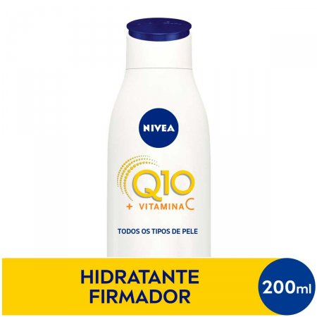 Hidratante Nivea Firmador Q10 + Vitamina C com 200ml