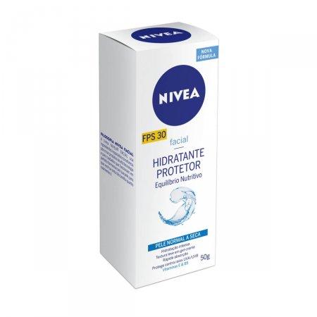 Hidratante Protetor Nivea Equilíbrio Nutritivo FPS30 com 50ml