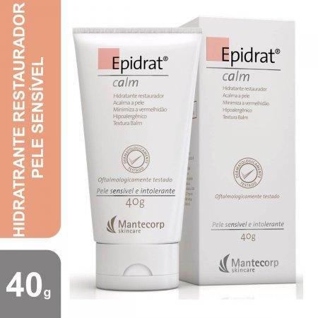 Hidratante Facial Epidrat Calm Pele Sensível com 40g