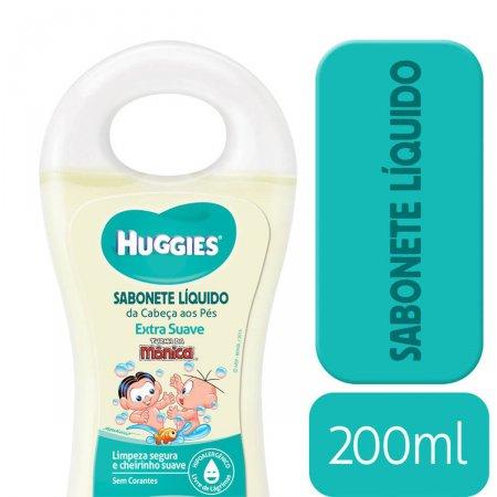 Sabonete Líquido Huggies Extra Suave 200ml