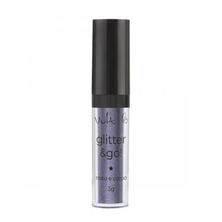 Iluminador Vult Glitter & Go! para Rosto e Corpo Fim do Arco-Íris
