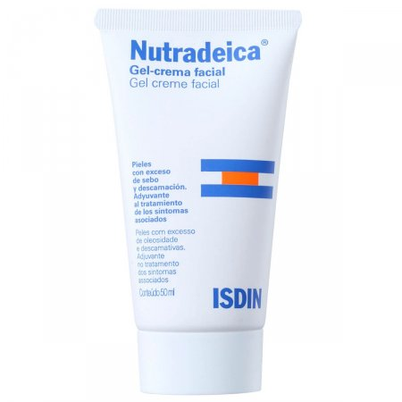 Gel Creme Facial Isdin Nutradeica 50mL